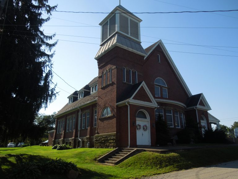 Delmont Presbyterian Church - Street View